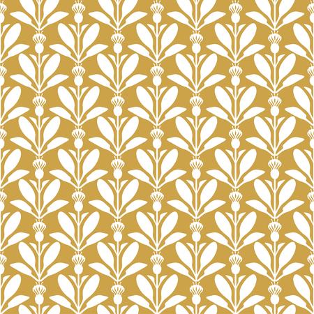 thistle: Vector illustrations of thistle flowers pattern seamless Illustration