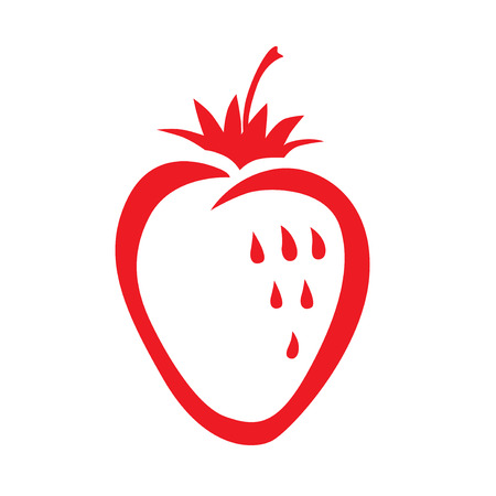 Vector illustrations of Strawberry icon