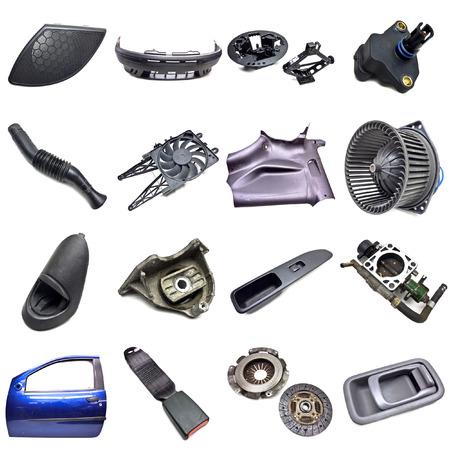 catalytic: car parts Stock Photo