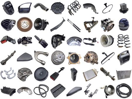 spare part: car parts collection
