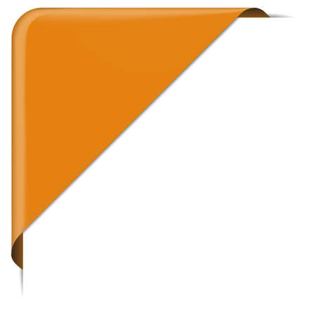 webshop: orange banner