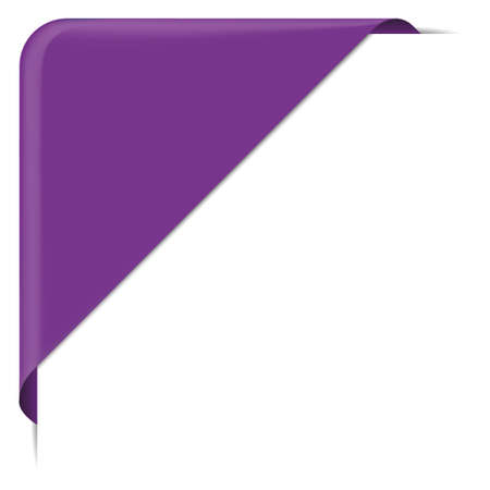 banderole: purple label banner