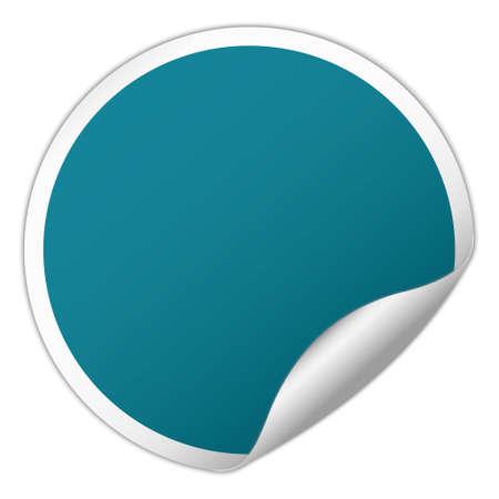 remark: round sticker