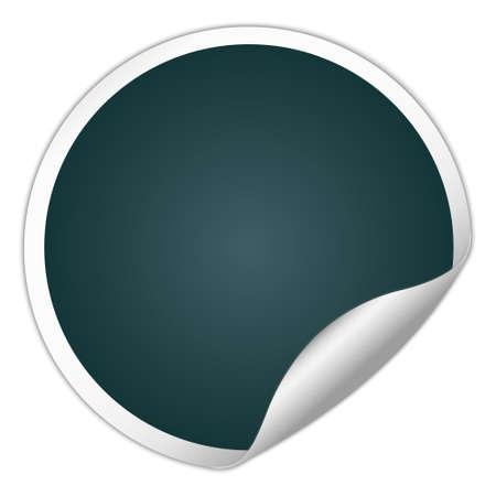 round: round sticker