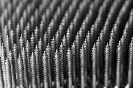 screw: screw lines Stock Photo