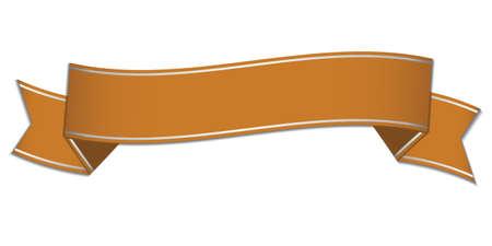 golden ribbon: golden ribbon banner