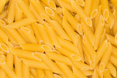 penne: penne pasta
