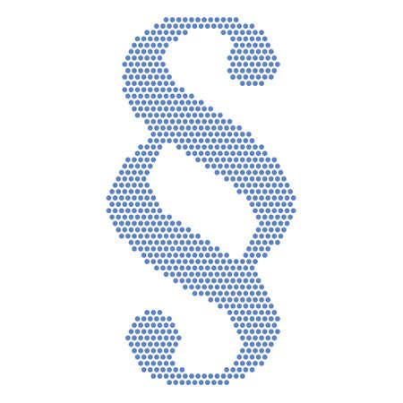 paragraph: blue paragraph sign Illustration