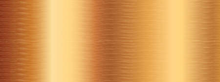 Vector texture of gold plate surface