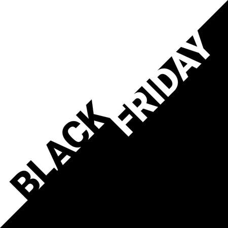 concept of black friday sale banner