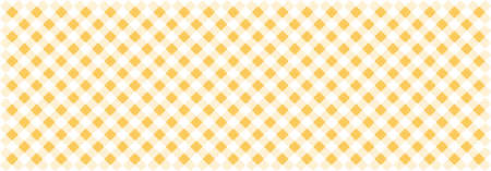 yellow fabric pattern texture - vector textile background for your design