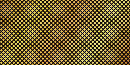 abstract vector background with gold squares Vettoriali