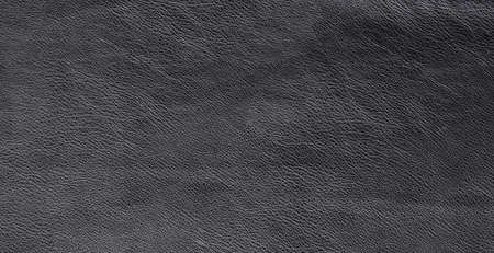 texture of black raw leather background