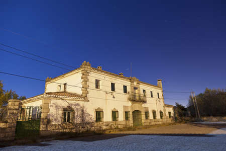Abandoned railway station, Bustarviejo. Spain