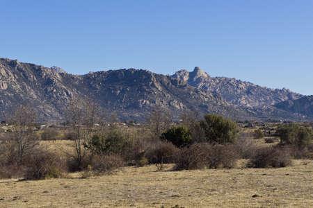 Pico de la Miel  It is a granite batholith located at Sierra de la Cabrera, Madrid, Spain