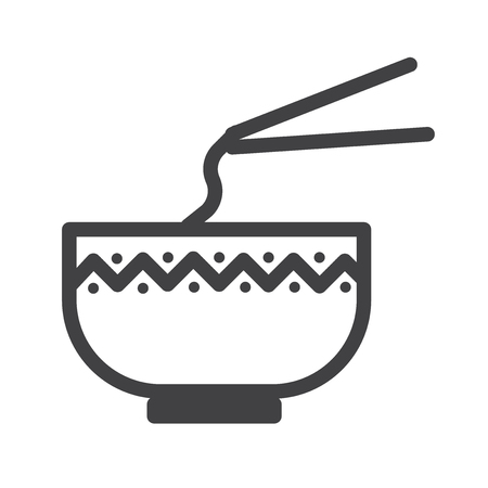 Chinese food vector icon