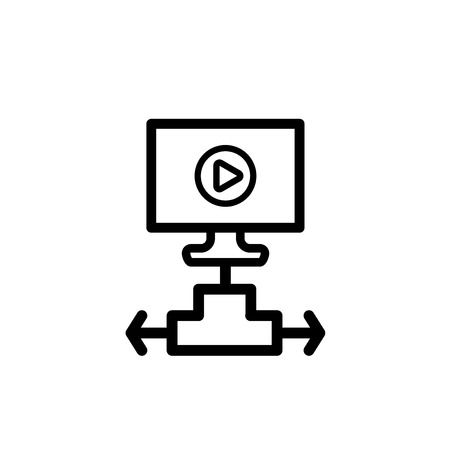 Hard disk vector icon Ilustrace
