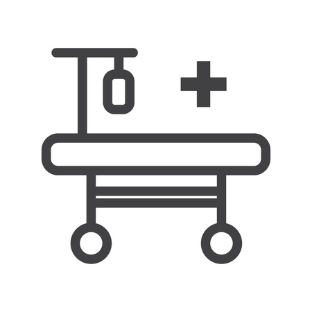 Hospitalization vector icon