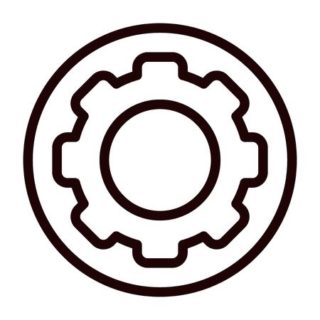 Setting vector icon