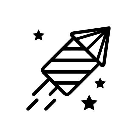 Fireworks vector icon Vettoriali