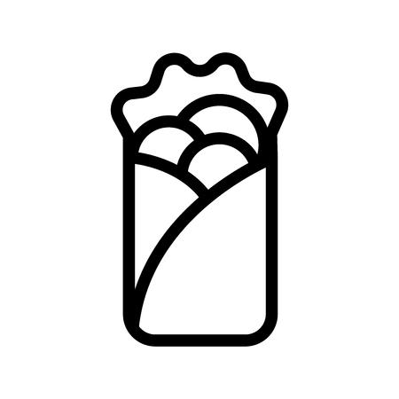 Kebab vector icon