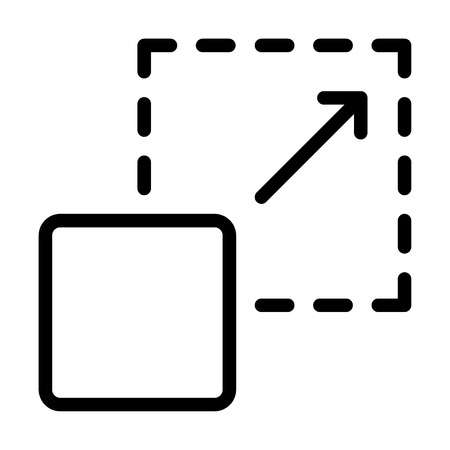 Scalability vector icon