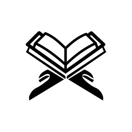 Koran-Vektorsymbol lesen Vektorgrafik