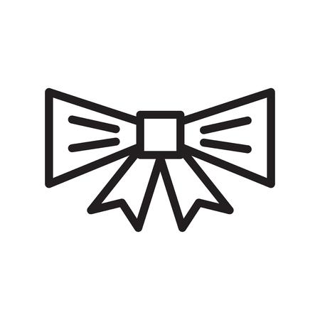 Tie black friday vector icon Illustration