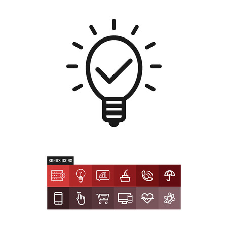 Intellectual property vector icon  イラスト・ベクター素材