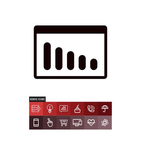 Volume Bars vector icon