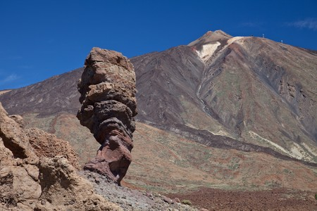 The volcano Teide, Teide national park,  Tenerife . Stock Photo