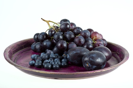raisin vin: Vin et fruits. Banque d'images