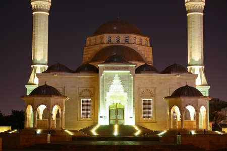 muscat: Oman, Muscat - Sultan Said bin Taimur mosque Stock Photo