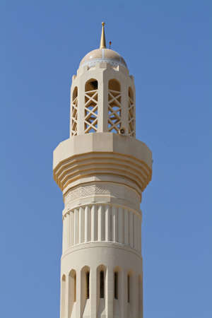 luster: Minaret of a mosque in Oman