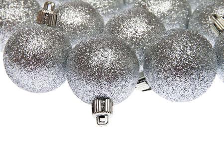 Christmas Decoration, photo on the white background
