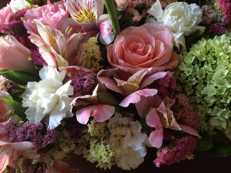 flower arrangement in soft colors Stok Fotoğraf