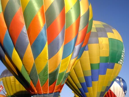 air: Hot air balloon colors