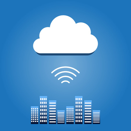 Data cloud Vettoriali