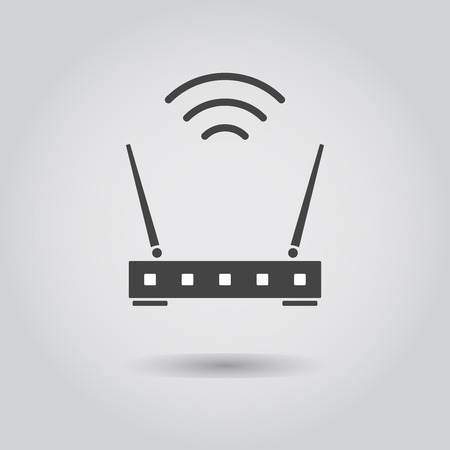 router: wi-fi router Illustration