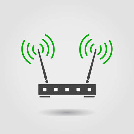 Internet router Vector