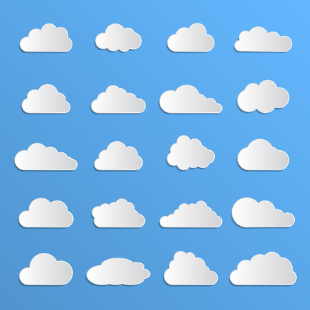 data cloud Vector
