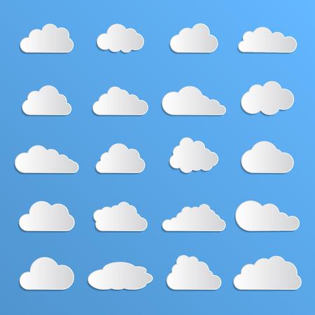 data cloud Vector