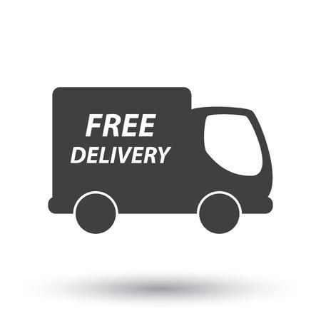 delivery truck Vettoriali
