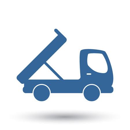 the dump truck: cami�n de volteo