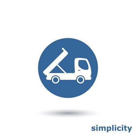 camion volquete: sencillo cami�n de volteo
