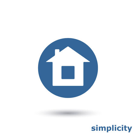 simple house: simple house icon