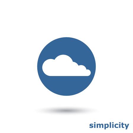 eenvoudige cloud