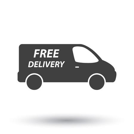 Camionnette de livraison  Banque d'images - 35242170