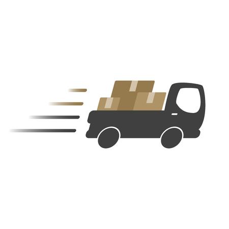Camion de livraison icône,