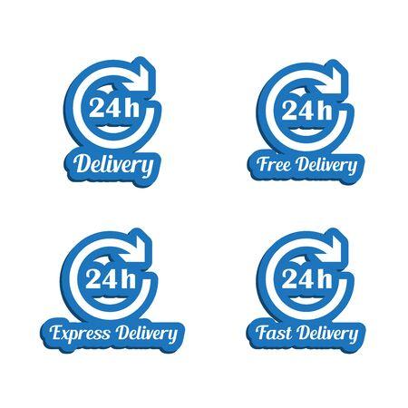 24h: 24h delivery symbols set